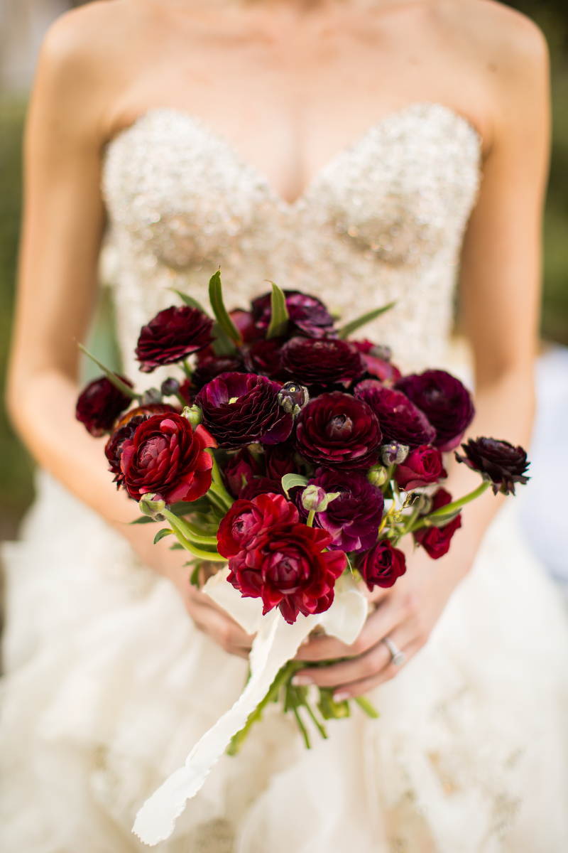 Elegant, Organic Blush and Red Wedding Ideas via TheELD.com