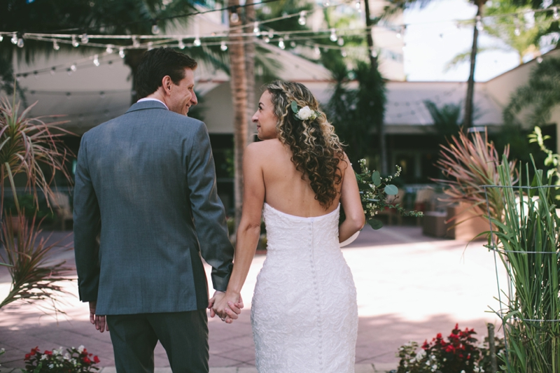 Mint & Bronze West Palm Beach Wedding via TheELD.com