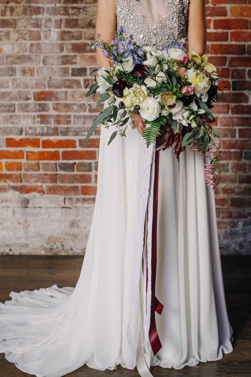 Urban Romantic Wedding Inspiration via TheELD.com