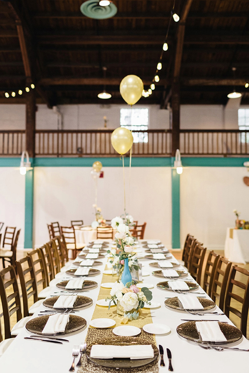 Fun Amp Eclectic 90s Themed Wedding Every Last Detail