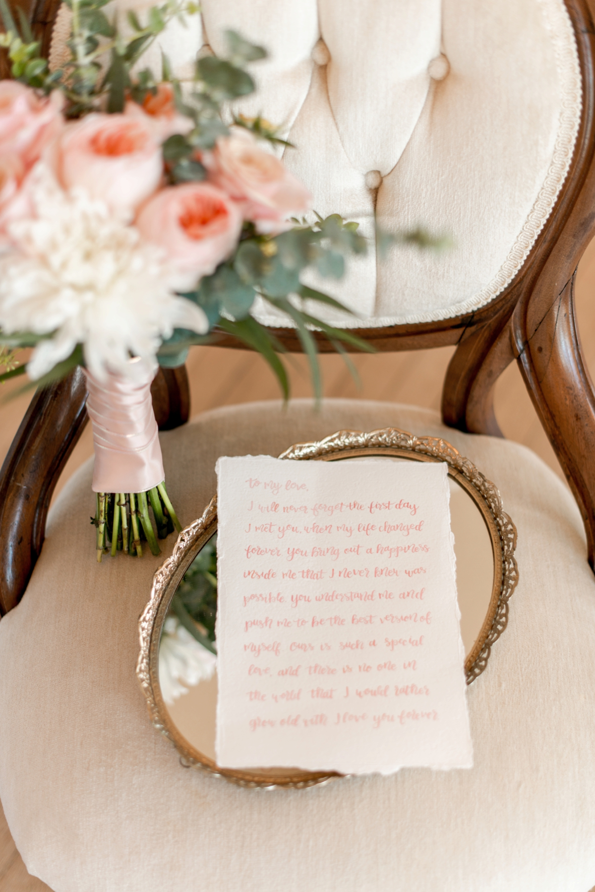 Elegant Calligraphy Inspired Wedding Ideas via TheELD.com