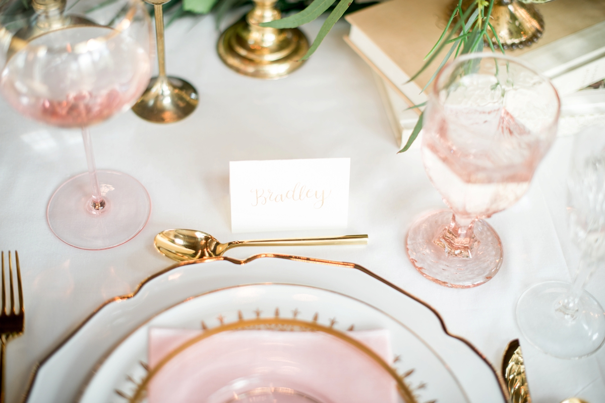 Elegant Calligraphy Inspired Wedding Ideas | Every Last Detail