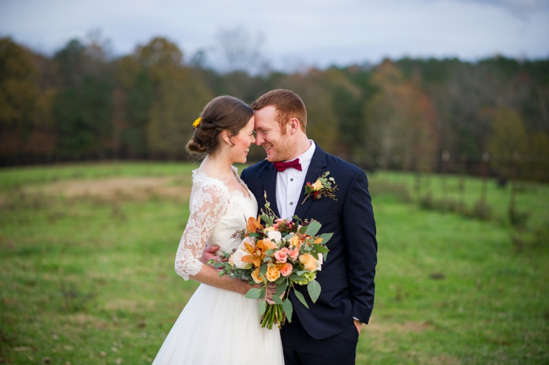 Rustic Elegant Georgia Barn Wedding via TheELD.com