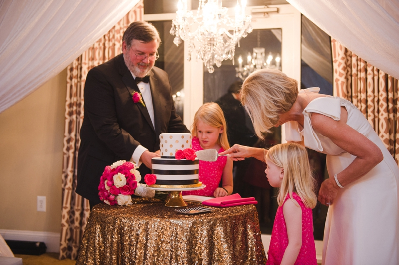 An Elegant Kate Spade Inspired Wedding via TheELD.com
