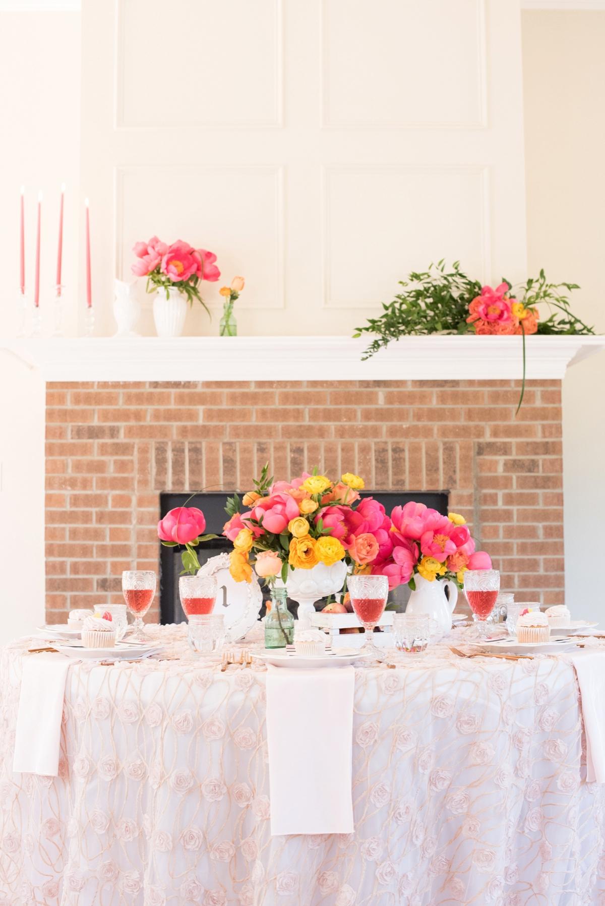 Pink & Yellow Vintage Modern Wedding Ideas | Every Last Detail