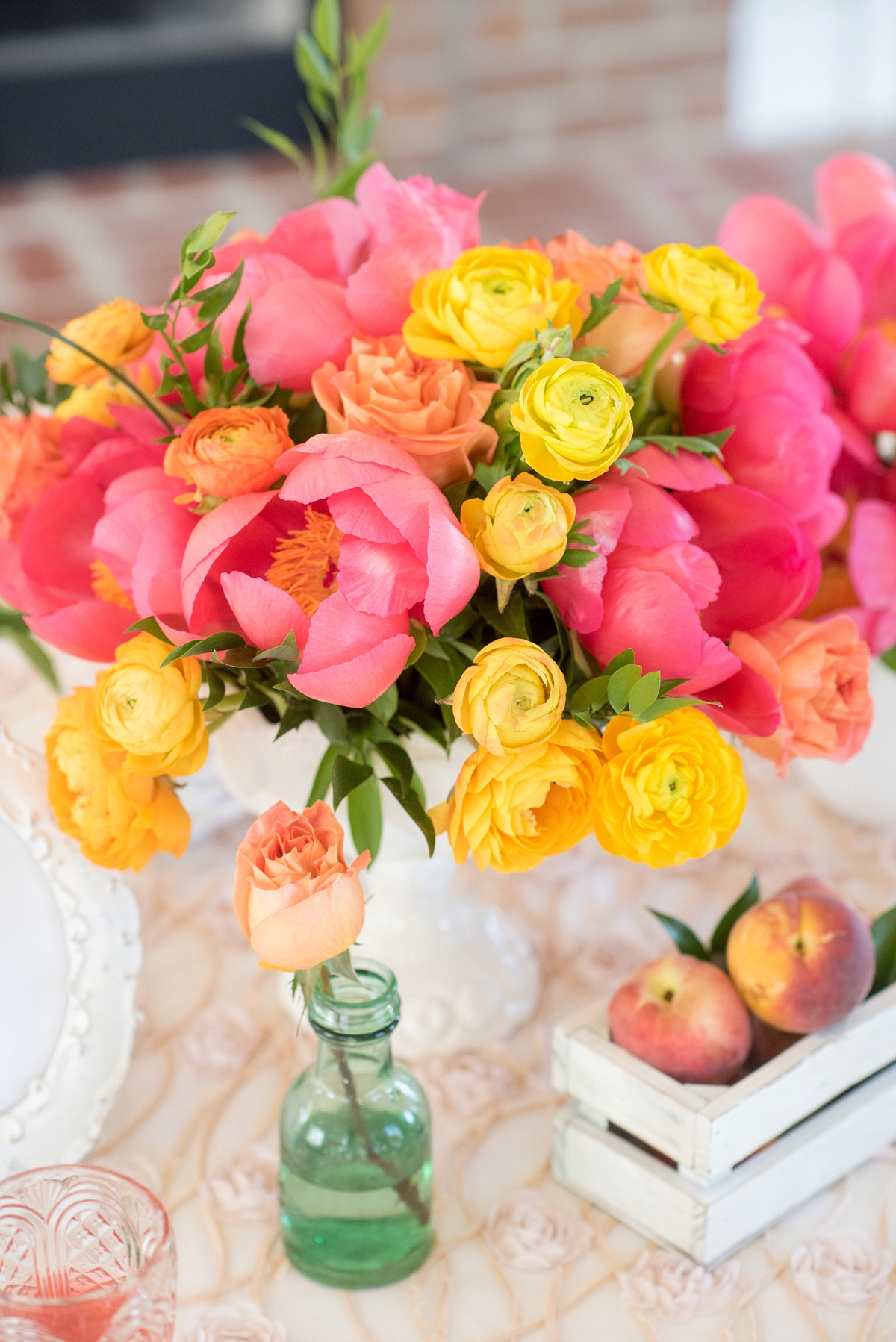 Pink Yellow Vintage Modern Wedding Ideas Every Last Detail
