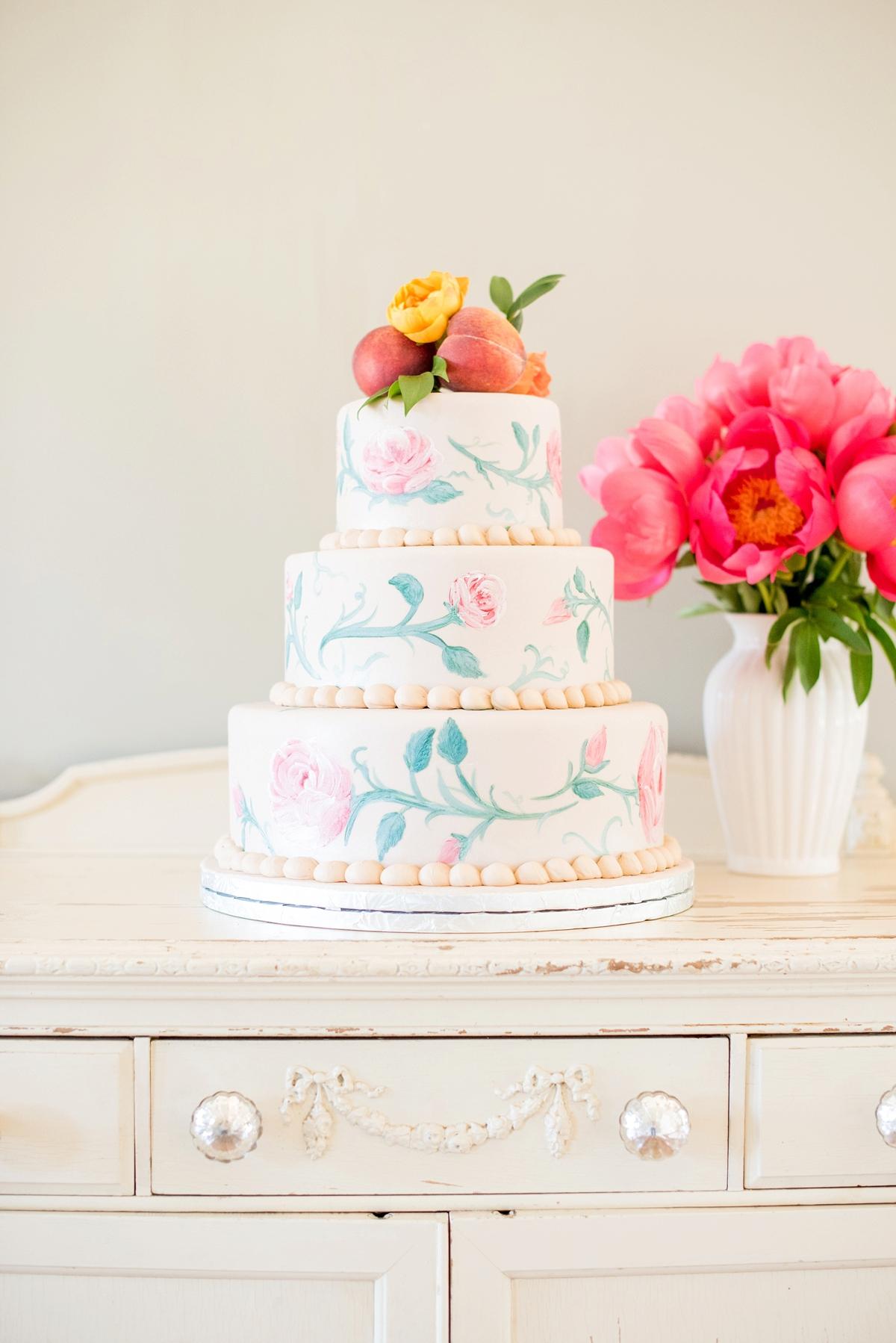 Pink & Yellow Vintage Modern Wedding Ideas via TheELD.com