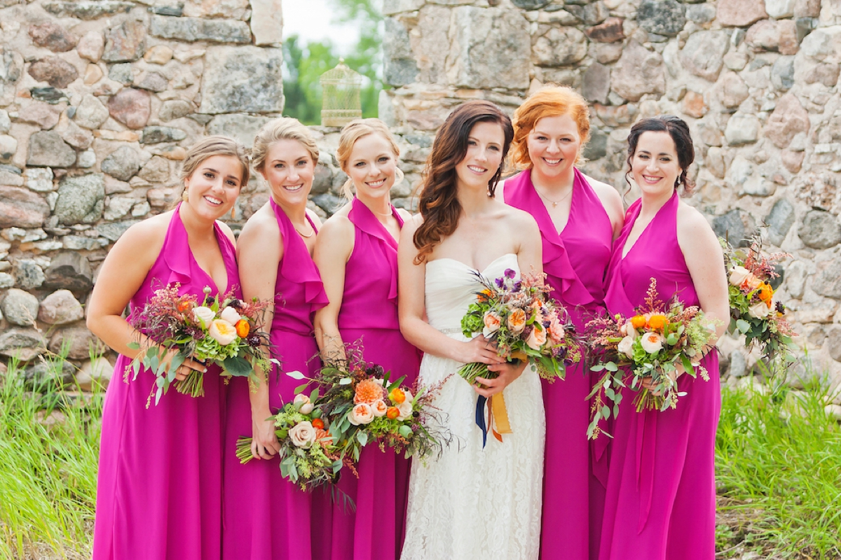 A Colorful Rustic Farm Wedding | Every Last Detail