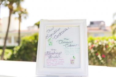 Aqua & White Oceanside Florida Wedding via TheELD.com