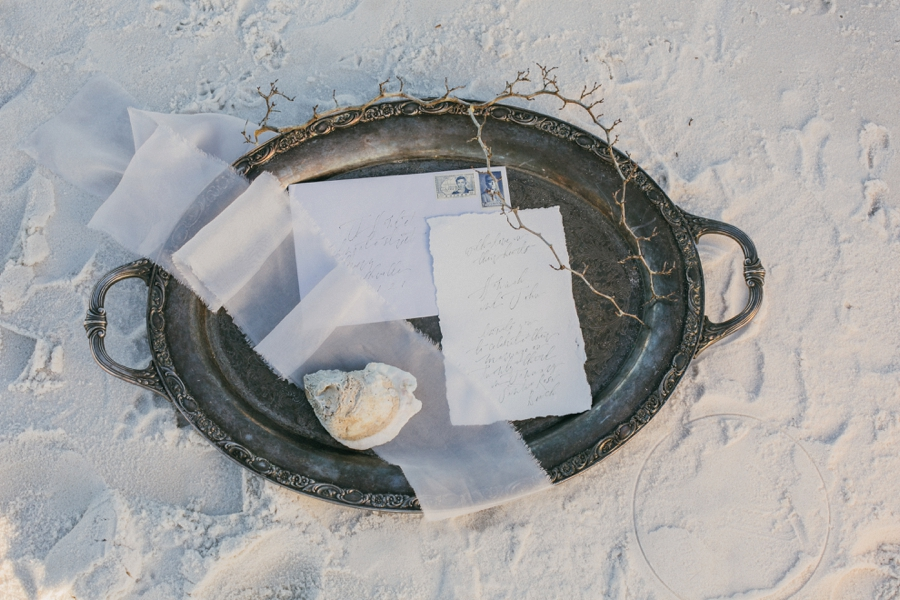 Boho Chic Beach Inspired Wedding Ideas via TheELD.com