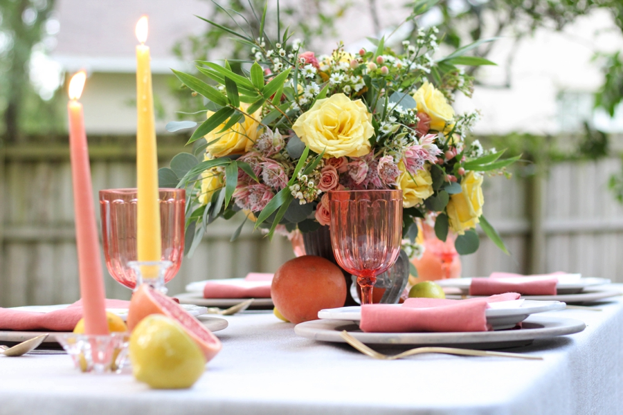 Citrus Inspired Wedding Ideas: 1 Theme, 3 Ways via TheELD.com