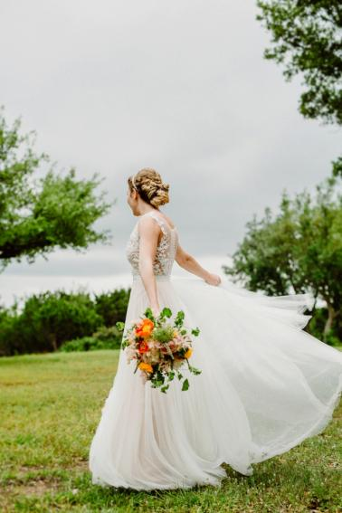 An Eclectic Brunch Wedding In Austin via TheELD.com