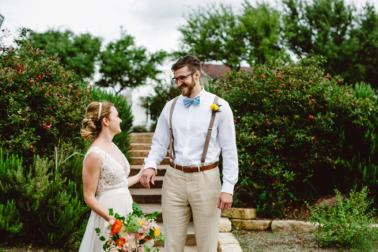 An Eclectic Brunch Wedding In Austin via TheELD.com