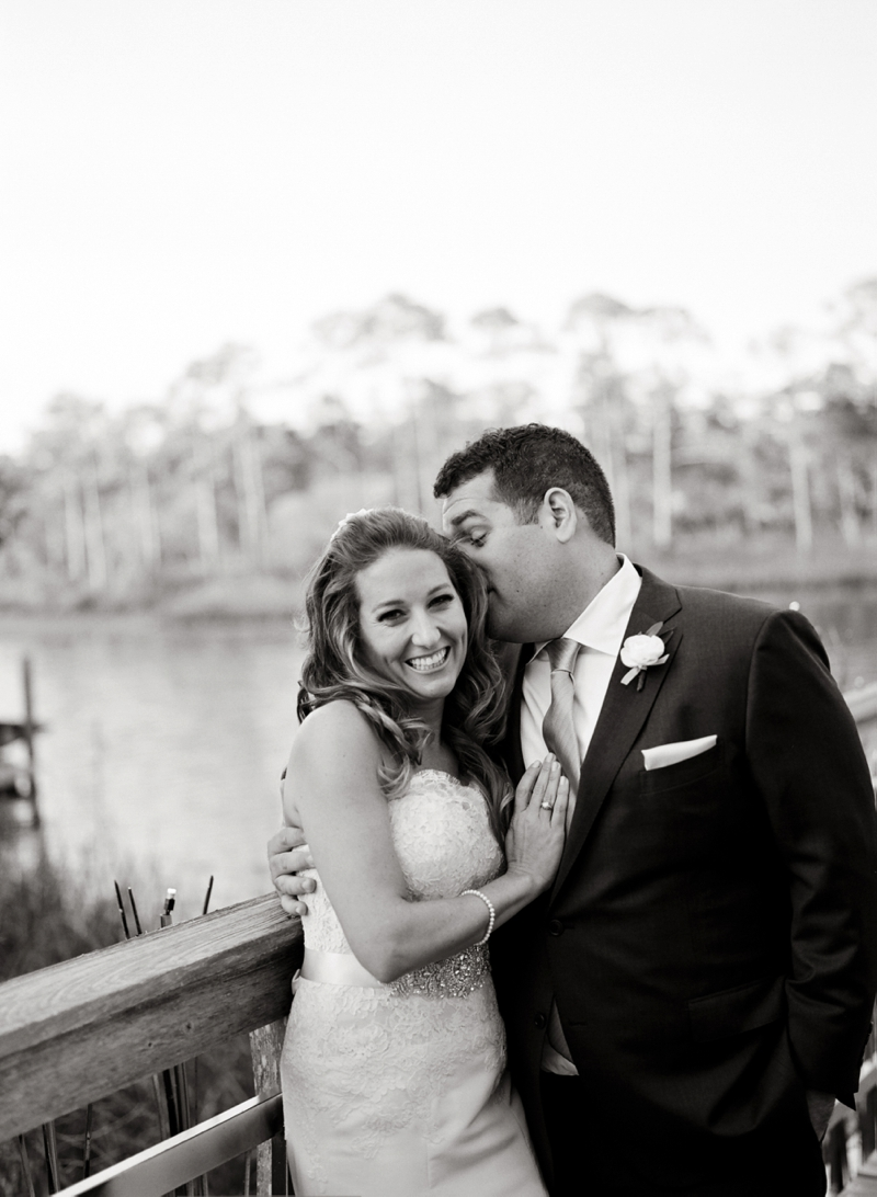Pink & Lavender Rosemary Beach Wedding via TheELD.com