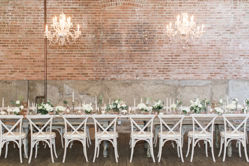 Romantic Blush and Rose Wedding Inspiration via TheELD.com