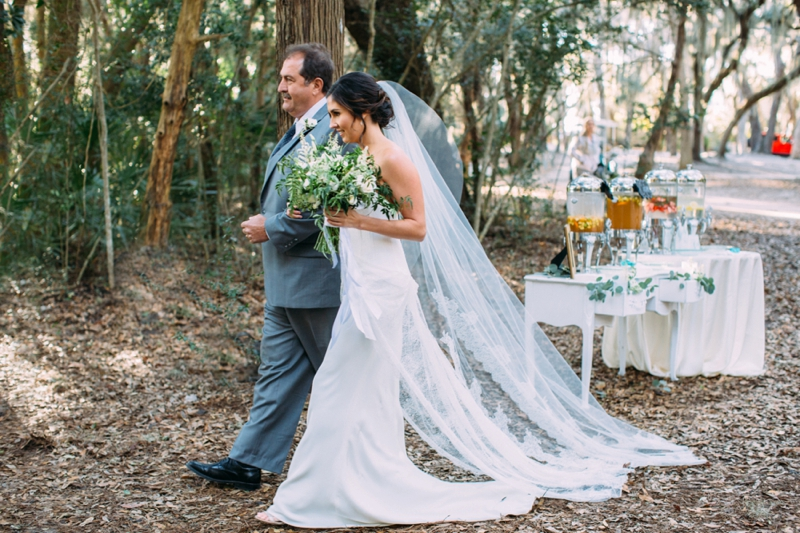 Southern & Organic Amelia Island Wedding via TheELD.com
