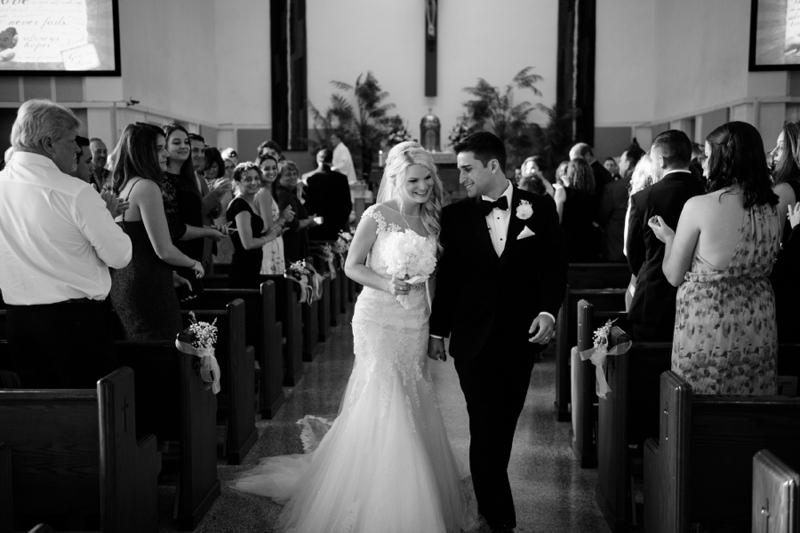 A Glamorous Versailles Inspired Black Tie Wedding via TheELD.com