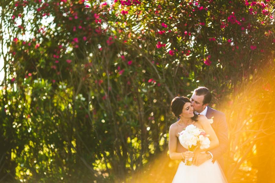 Preppy Elegant Pink & Navy Destination Wedding via TheELD.com