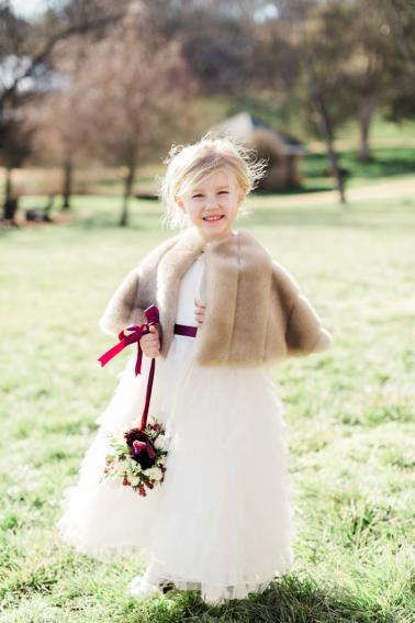 Elegant Purple & White Virginia Wedding via TheELD.com