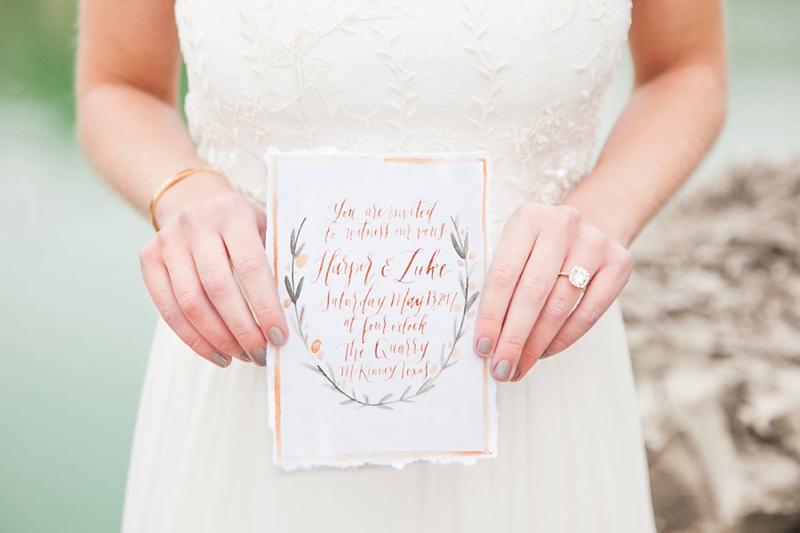 Romantic Mediterranean Inspired Wedding Ideas via TheELD.com