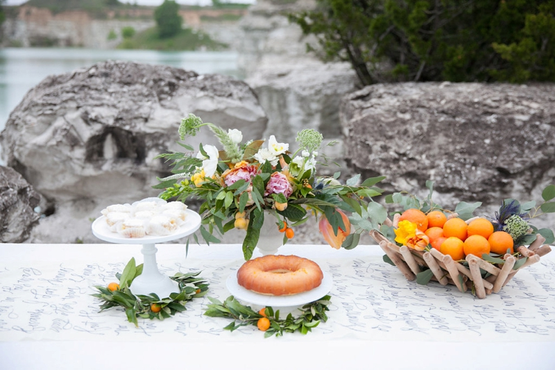 Romantic Mediterranean Inspired Wedding Ideas via TheELD.com