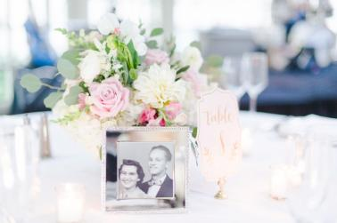 Elegant Blush Georgetown Wedding via TheELD.com