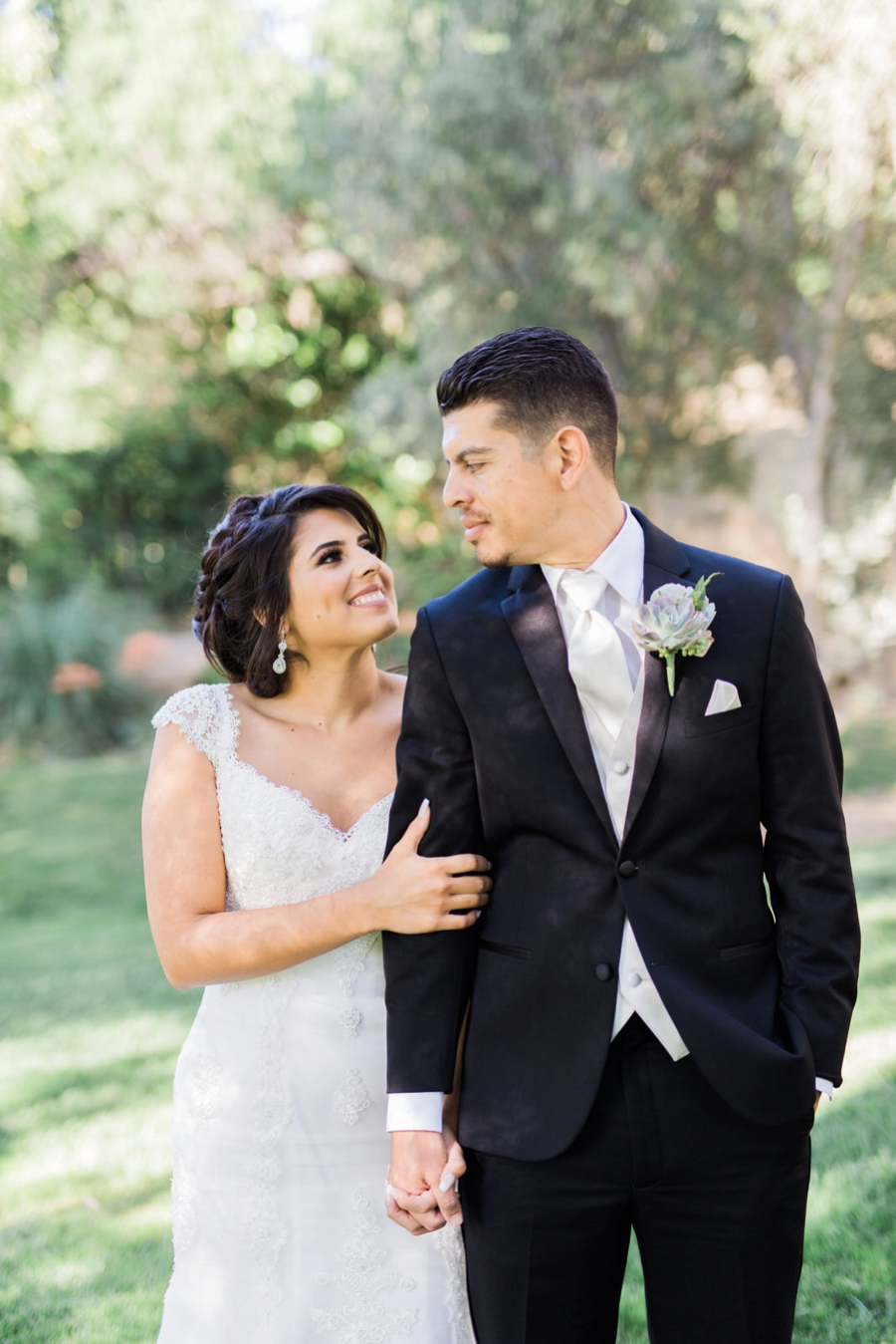 A Fun & Romantic Los Angeles Wedding via TheELD.com