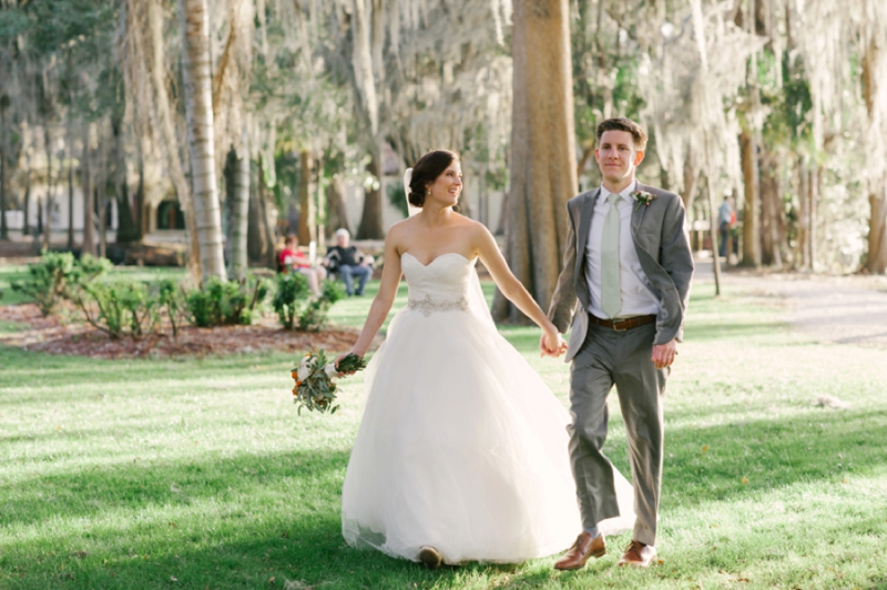 Old Florida Inspired Wedding in Winter Park via TheELD.com