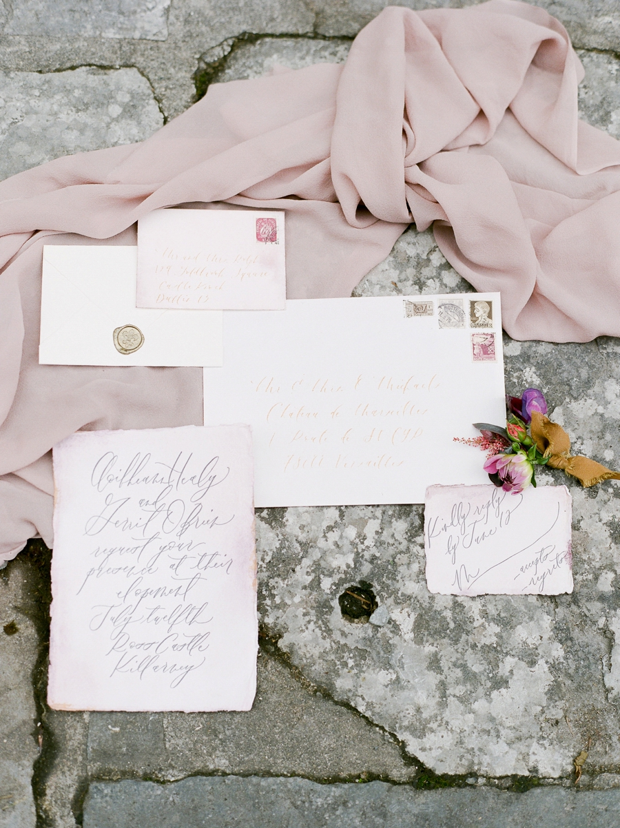 Romantic Ireland Wedding Inspiration via TheELD.com