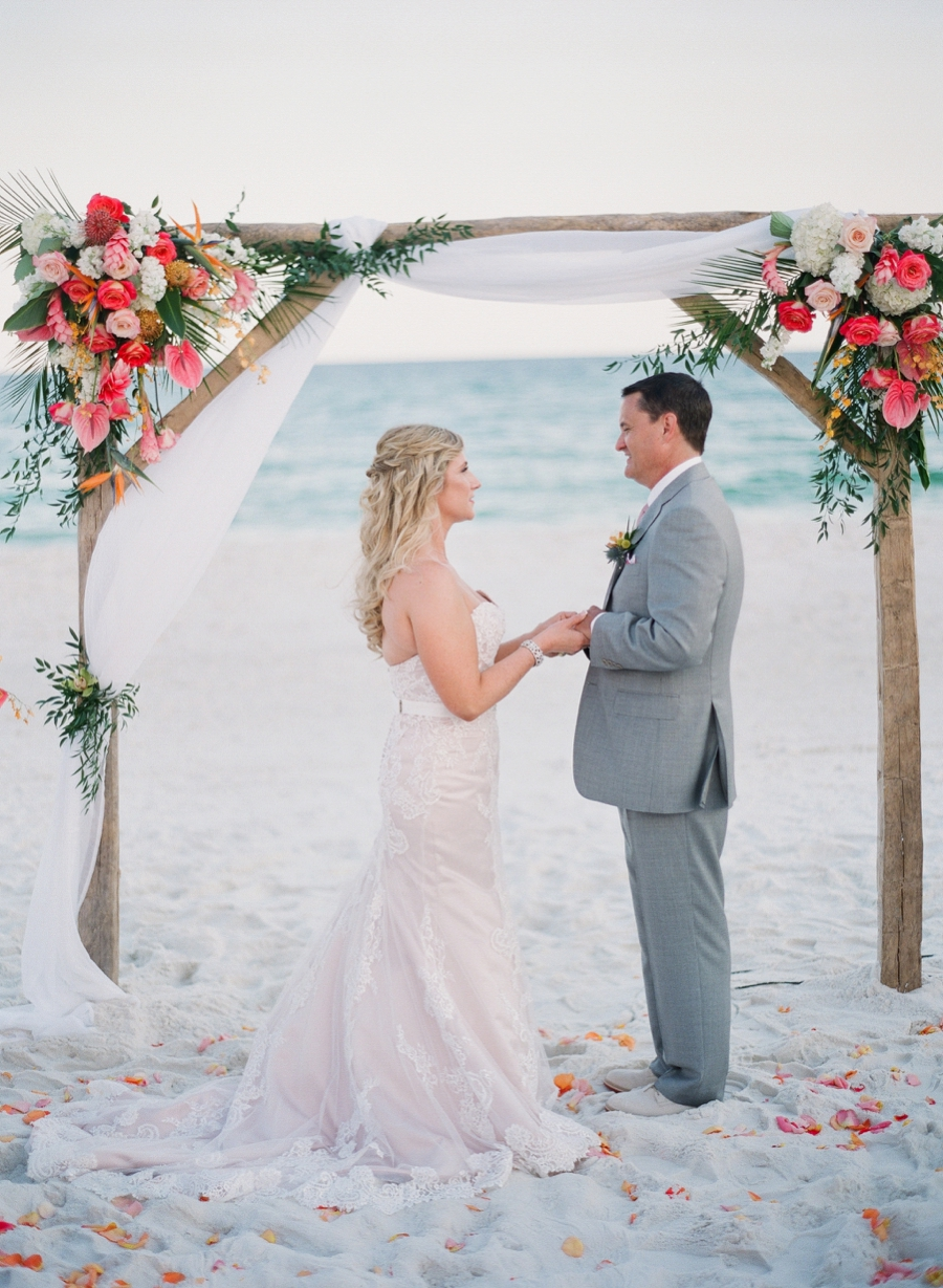 Colorful Caribbean Inspired Destination Wedding via TheELD.com