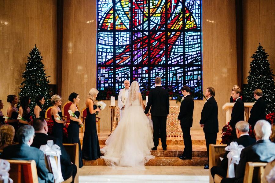 An Elegant Philadelphia New Years Eve Wedding via TheELD.com