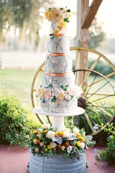 best wedding cakes 2016 the best wedding cakes of 2016 every last detail 11514