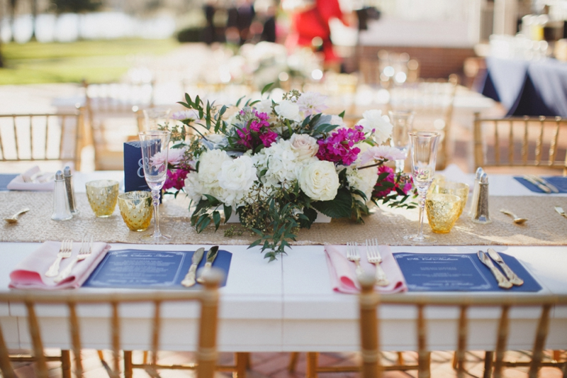 Vintage Modern Florida Estate Wedding via TheELD.com