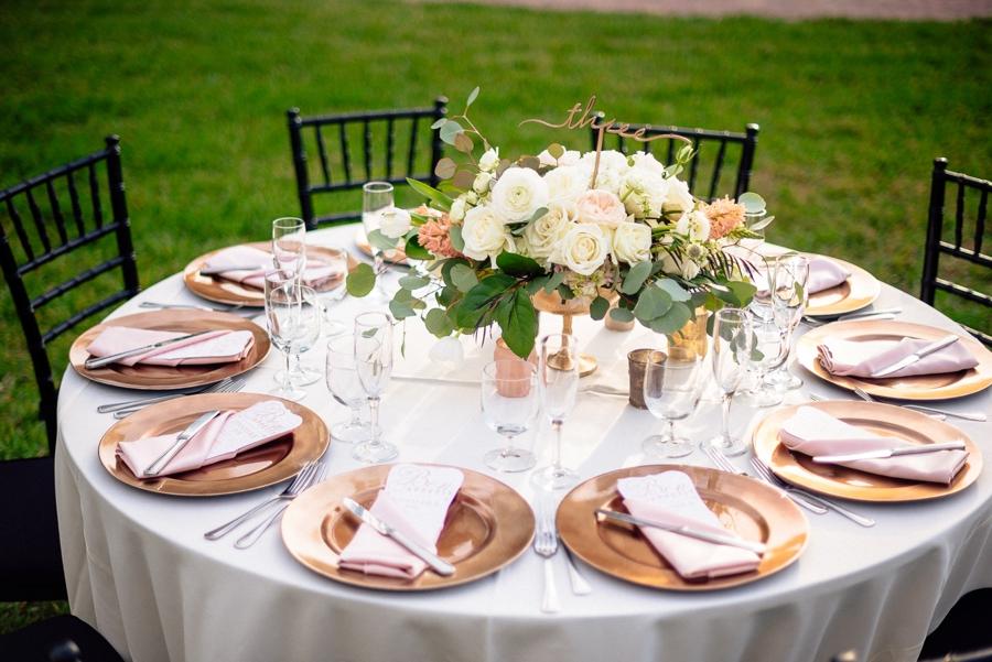 Metallic Wedding Theme Ideas Every Last Detail