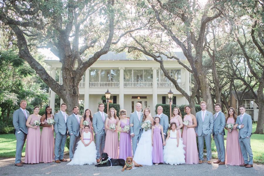 Classic Blush & Lavender Texas Wedding   Every Last Detail