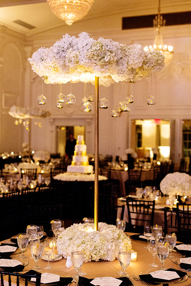 white and gold wedding decor new year s black and gold wedding every last detail 1296