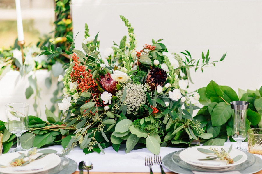 Romantic Green Garden Wedding Ideas via TheELD.com