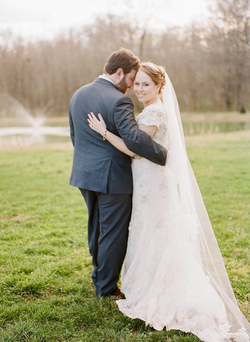 Romantic Whimsical Nashville Barn Wedding via TheELD.com