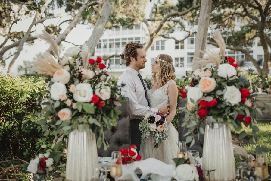 Vibrant Bohemian Wedding Inspiration via TheELD.com