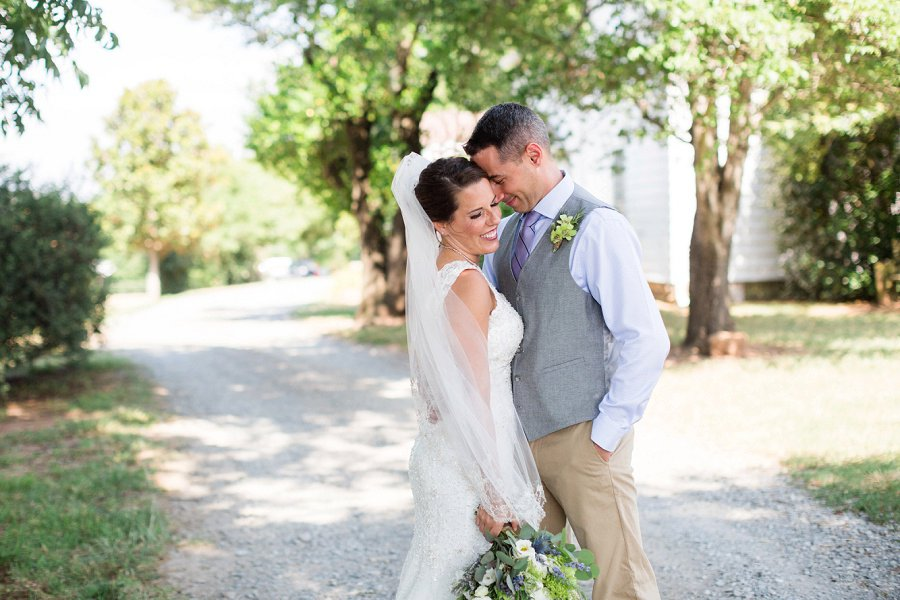 Lavender and Sage Craft Beer Inspired Barn Wedding via TheELD.com
