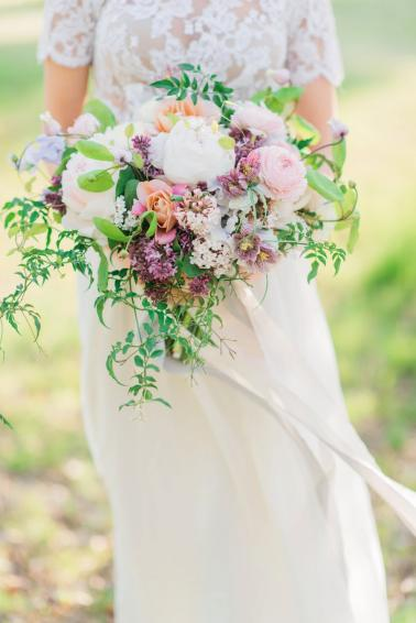 Colorful & Whimsical Wedding Inspiration via TheELD.com