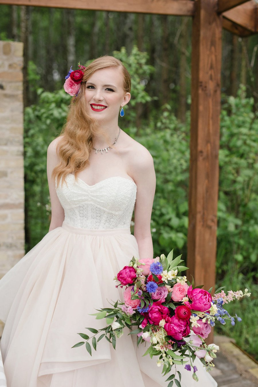 Colorful Modern Fiesta Inspired Wedding Ideas via TheELD.com