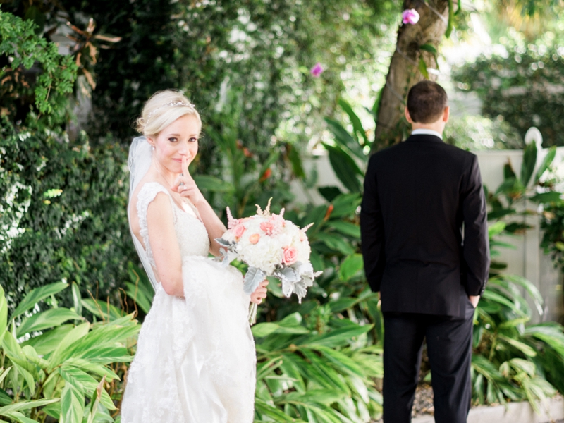 A Romantic Blush Key West Wedding via TheELD.com