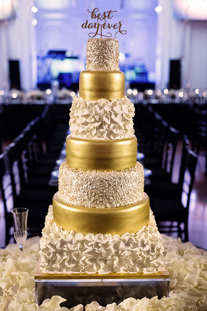 New Year S Eve Black And Gold Wedding Every Last Detail
