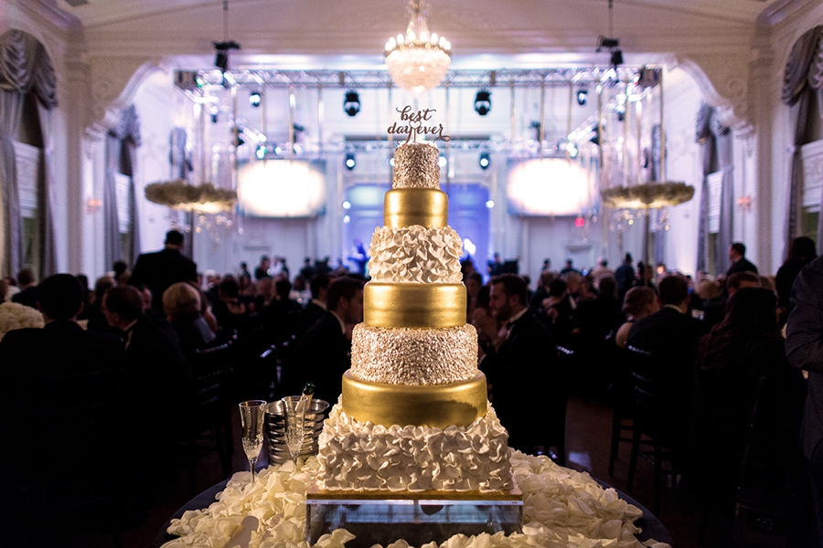 New Year\'s Eve Black and Gold Wedding | Every Last Detail