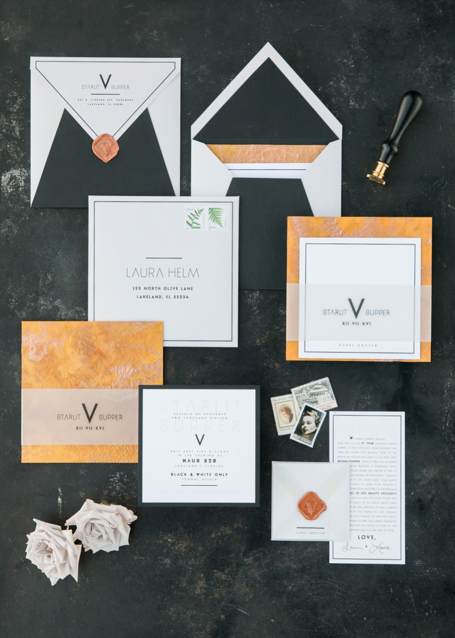 Modern Industrial Chic Wedding Inspiration via TheELD.com