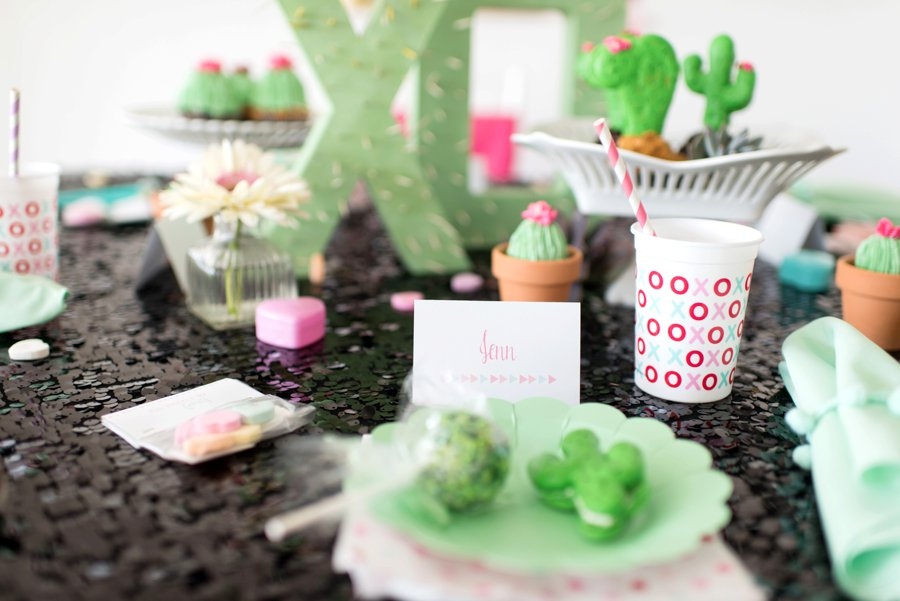 Prickly Pair Valentines Day Party Ideas via TheELD.com