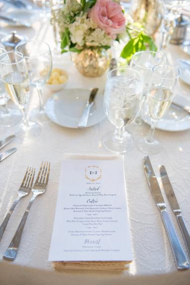 Classic Blush & White New Jersey Wedding via TheELD.com