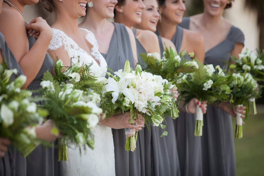 Green & White Elegant Pensacola Wedding via TheELD.com