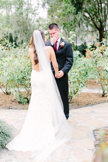 Classic Red and White Central Florida Wedding via TheELD.com